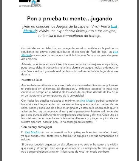 Exit-Game-Madrid-Nota-Prensa