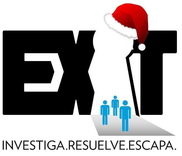 Logo EXIT Madrid - Navidad