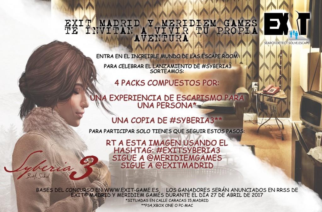 Concurso #EXITSyberia3