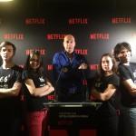 Netflix transforma Exit® Madrid para su evento anual